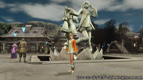 PS4基地シンボル二喬と小喬の画像