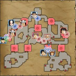 頂上戦争の挑戦状のマップ